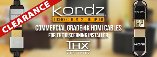KORDZ HDMI Leads